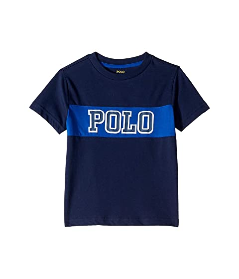 Polo Ralph Lauren Kids Cotton Jersey Graphic T-Shirt (Toddler) at ... 888c118fc