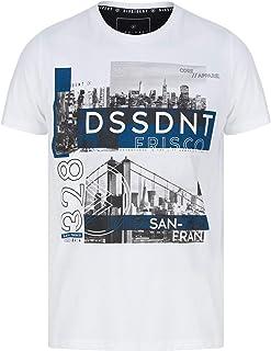 Nouveau Homme Dissident discode 4 Imprimé à manches courtes T-shirt homme à encolure ras-du-cou taille S-XL