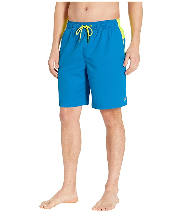 Speedo  Marina Edge Volley 20 (Blue/Yellow) Mens Swimwear