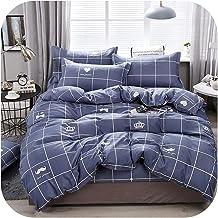 Home Textile Dinosaur Land Cartoon Blue Duvet Cover Pillowcase Flat Bed Sheet Teen Boy Girl Bedding Linen Set-16-Flat Bed ...