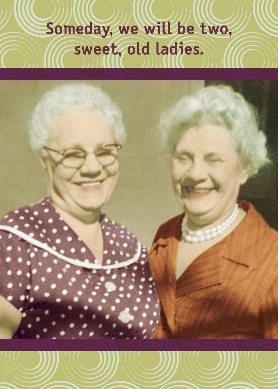 Ladies funny old Women As