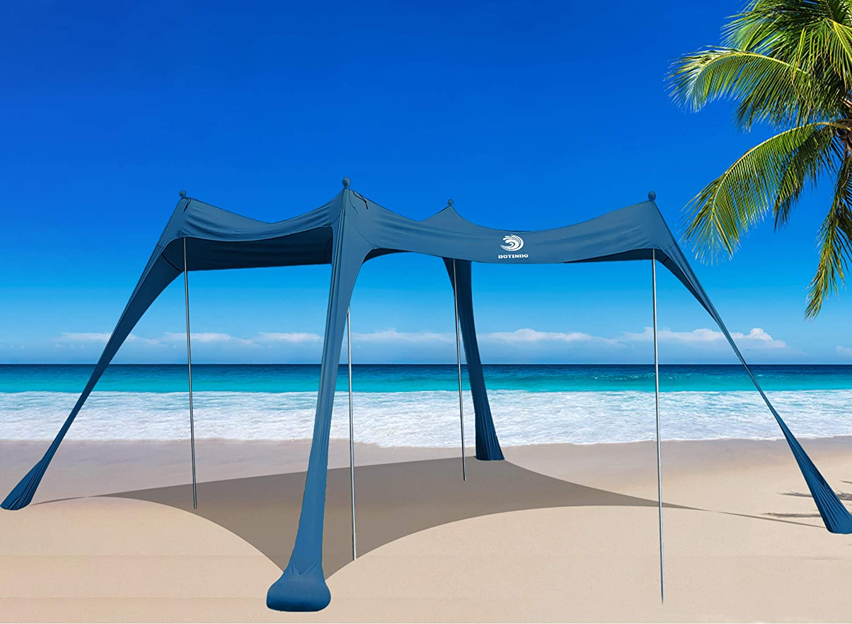 BOTINDO Family Beach 訳あり Tent 往復送料無料 Sunshade Canopy Shelter Sun Up 4 Pop