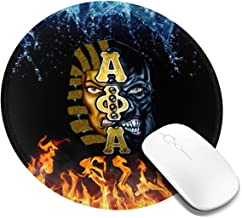 Best Customized Round Mouse Pad,Alpha Phi Alpha Mouse Pad Non-Slip Rubber Comfortable Computer Mouse Pad 7.9x7.9in Review