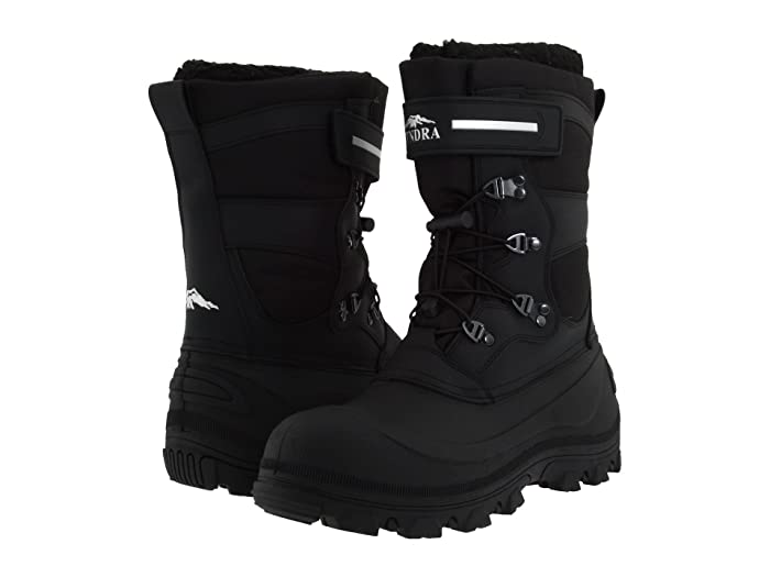 Tundra Boots Toronto (Black/Grey) Men's Cold Weather Boots