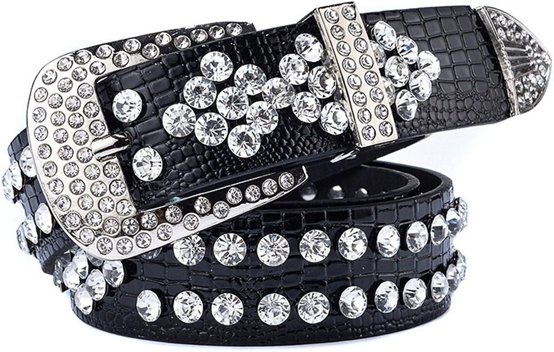 Z&YY Women Luxury Handmade Belt Wide Jeans Belt Ladies Decorative Belt Black Belt