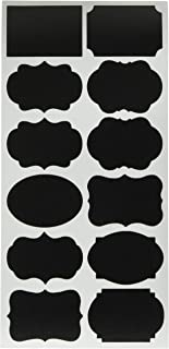 Chalkboard Labels, 120 Pantry and Storage Stickers for Jars: Mason, Spice, Glass, Cups, Bottles, Containers, Canisters, Large Decorative Reusable Waterproof Blackboard Vinyl Set