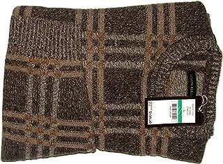 Joseph Abboud Sweater Pullover Lambs Wool Woolen Men Crewneck Outerwear Plaid