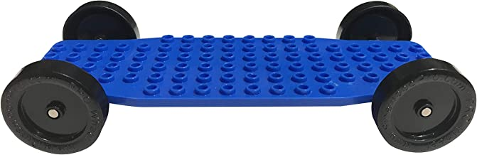 Pinewood Pro's PRO Brick Lego Derby Car Chassis for Racing Lego Derby Cars on Derby Track