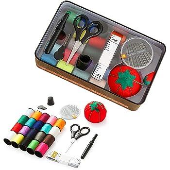 Enzege Kit de Costura Costurero Accesorios Viaje para Sastre, Familia, Principiante, Hogar, Viajes y Uso de Emergencia: Amazon.es: Electrónica