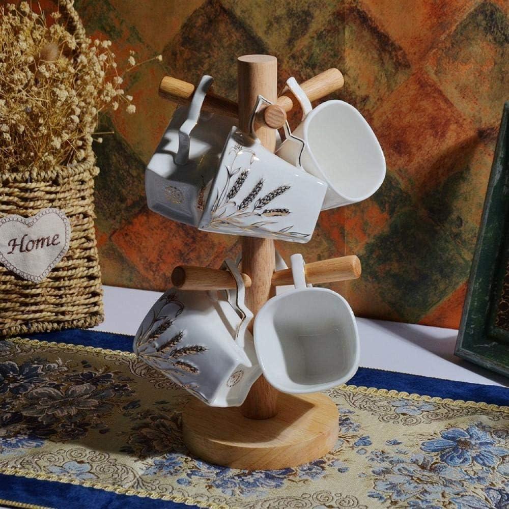 DSWHM Ceramic Coffee Tea Gift Max 43% OFF Sets 6 Of Mug Large special price !! Set