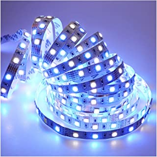 LEDENET Super Bright LED RGBW Strip Lights 5050 12V 5M 300LEDs RGB White Flexible Lighting