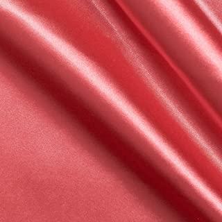 Best coral pink fabric Reviews