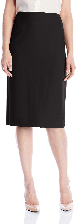 Kasper Women's Stretch Crepe Skimmer Skirt
