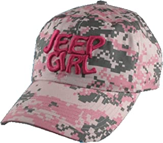 Jeep Girl Digital Camo Pink Cap