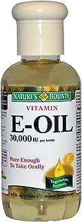 Vitamin E Oil by Nature`s Bounty, Supports Immune Health and Antioxidant Health, 30,000IU Vitamin E, Topical or Oral Oil, 2.5 Oz