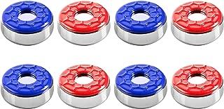IdealEnjoy Shuffleboard Pucks 2-1/8''(53mm),Set of 8(red&Blue)