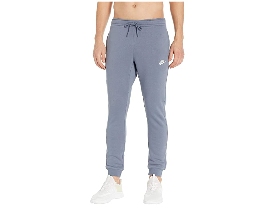 Nike Sportswear Fleece Jogger (Armory Blue/White) Men