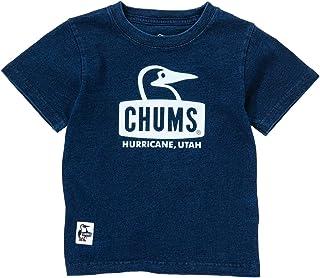 チャムス 半袖シャツ ジュニア キッズブービーフェイスTシャツインディゴ Kid's Booby Face T-Shirt Indigo CH21-1092 Indigo S(90-100)