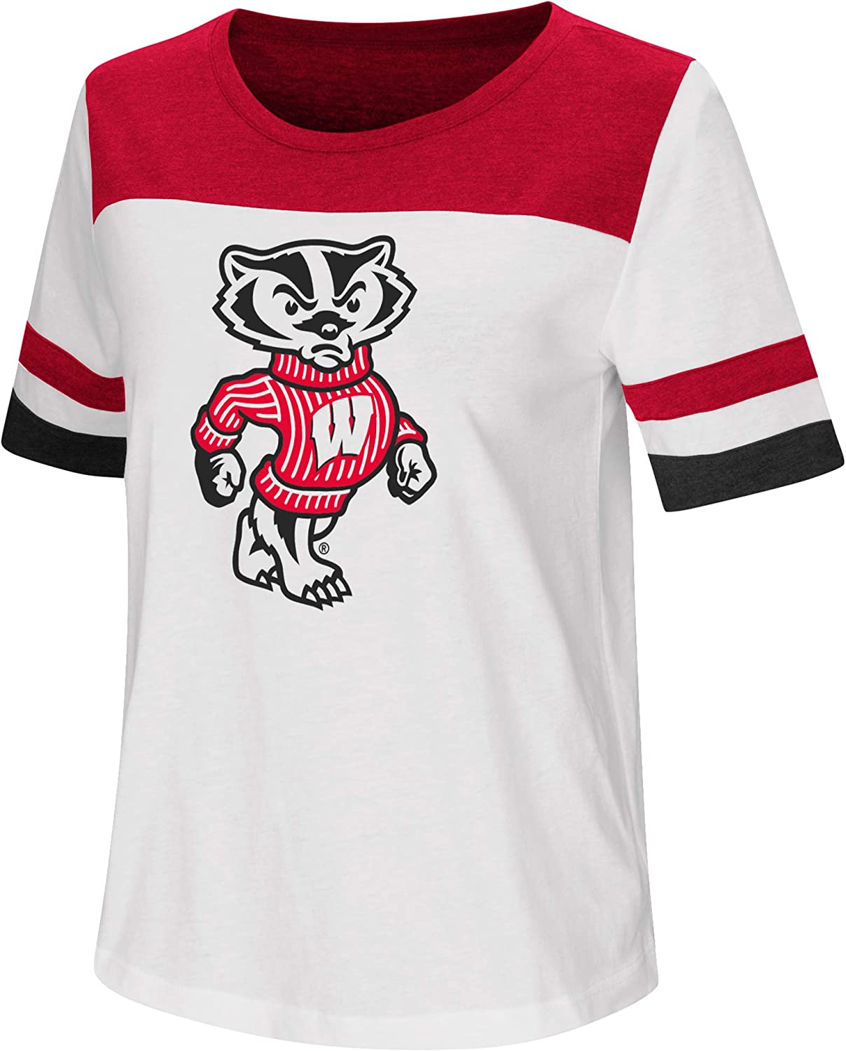 Colosseum Ladies Wisconsin Badgers Show Me The Money T Shirt