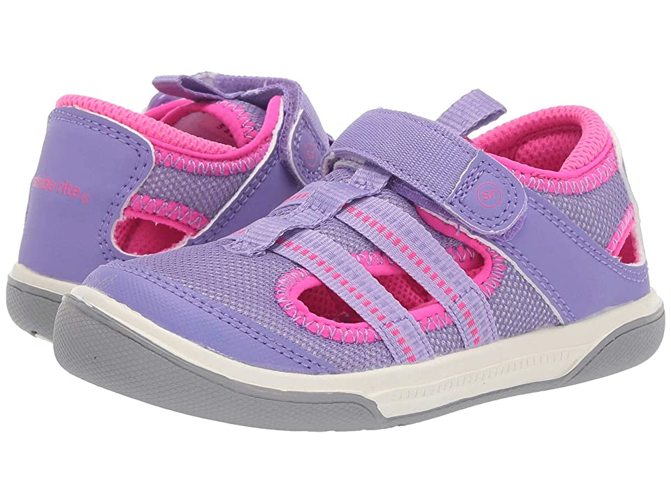 Stride Rite Liam (Toddler) (Purple) Girl