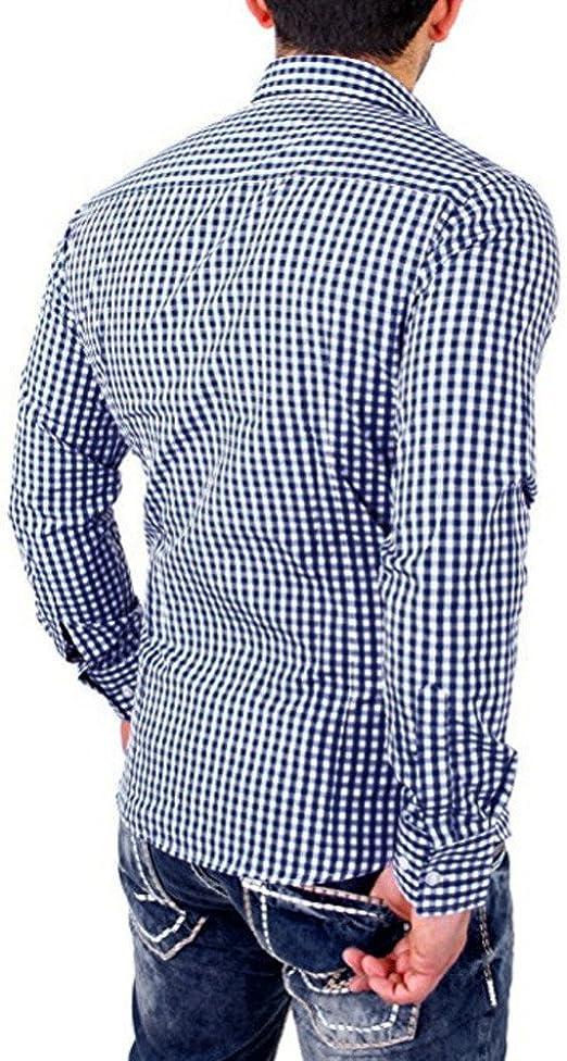 Camisa a Cuadros de los Hombres Camisa de los Hombres de ...