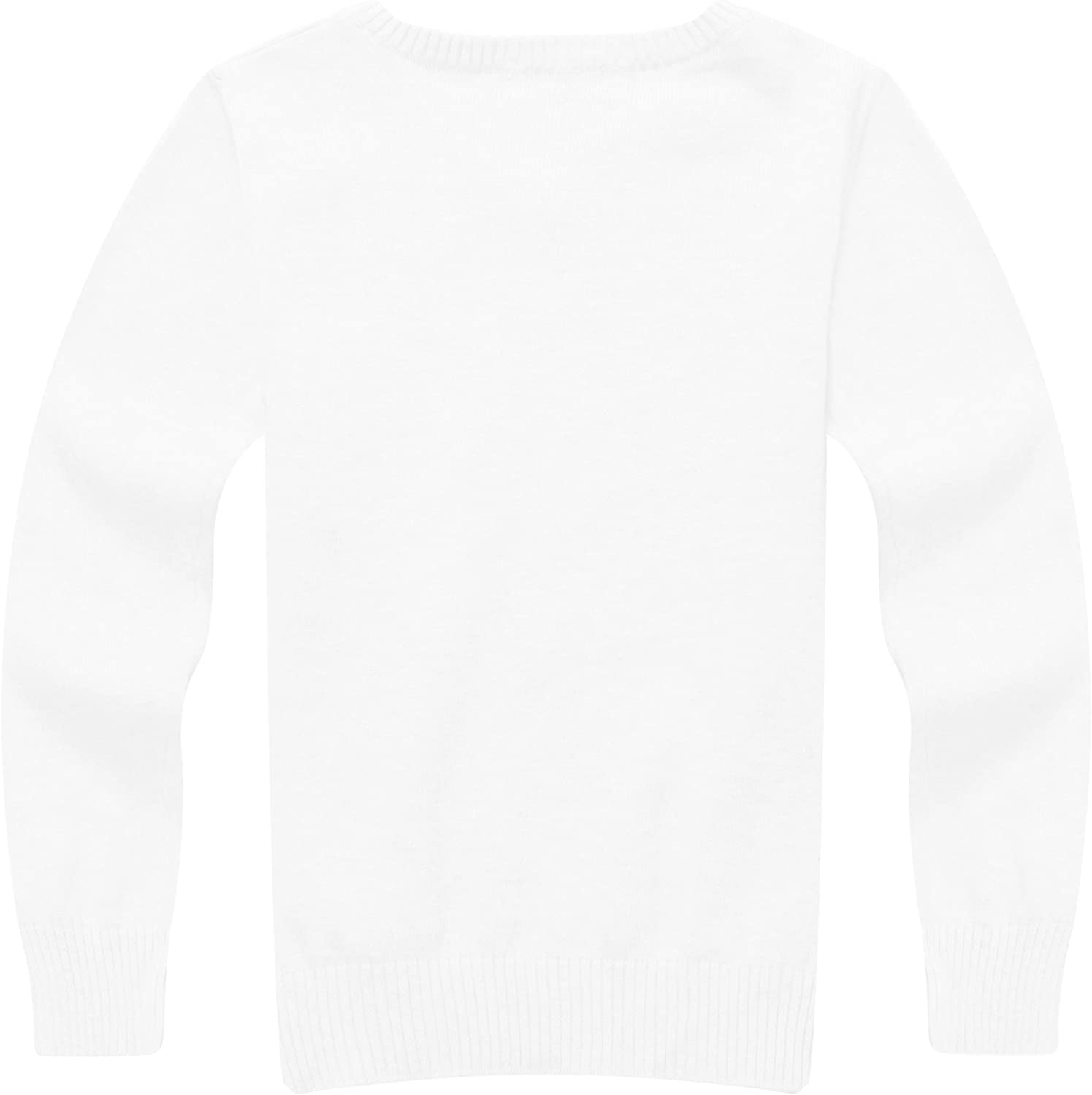 Richie House Boys' Solid Pullover with V-Neck RH0866 Size 2-12Y