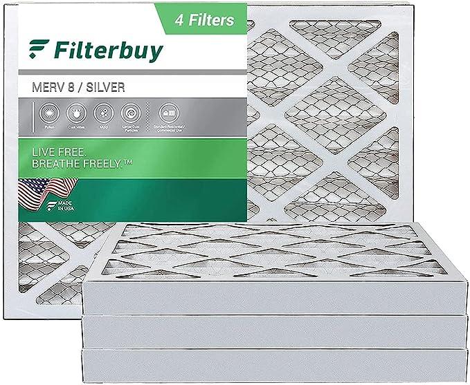 futurepost.co.nz FilterBuy 12x18x2 Air Filter MERV 8 Pleated HVAC ...