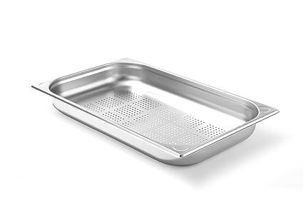 530x325x Kitchen Line H 5.3 L 40 mm HENDI Recipiente Gastronorm 1//1 perforado