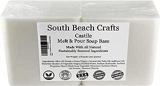Castile - 2 Lbs Melt and Pour Soap Base - South Beach Crafts