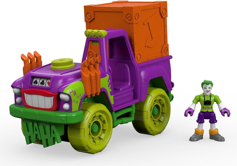 FisherPrice DRT58 Imaginext DC Super Friends Der Joker überraschungstruck