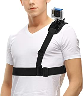 O RLY Shoulder Strap Mount Harness Single Shoulder Chest Strap Supports Belt for GoPro Hero 2 3 4 5 6 7Black 8 SJCAM/Apema...