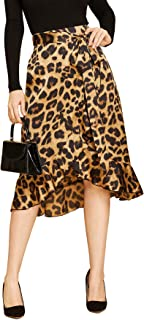 womens high low skirts