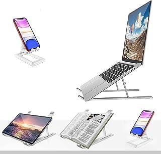 Laptop Stand Adjustable Riser,with extra phone stand Adjustable Ventilated Desktop Tablet,Laptop Stands for desk