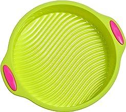 Megrocle Silicone Cake Pan Round   Food Grade Silicone Bakeware Set, Non Stick Reusable BPA-Free Silicone Molds Baking Pan...