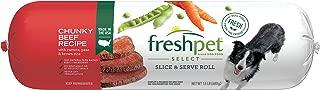 Freshpet Healthy & Natural Dog Food, Fresh Beef Roll, 1.5lb