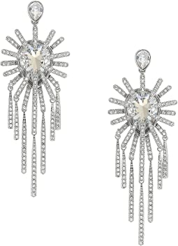 Swarovski - Hippy Pierced Chandelier Earrings
