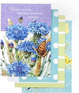 DaySpring Birthday - Inspirational Boxed Cards - Marjolein Bastin Floral - 77544