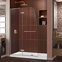 DreamLine Aqua Ultra 45 in. Width, Frameless Hinged Shower Door, 5/16