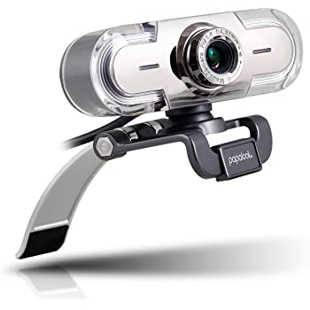 PAPALOOK 1080P PA452 Webcam HD Web PC Camera with Microphone, USB Computer Camera for Skype OBS YouTube, Plug and Play for Video Chat & Recording, Compatible with Windows 7/8 /10