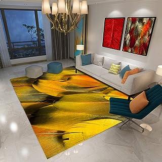 Tapis Salon Grand,Tapis Chambre Adulte Longs, Feuilles 3D Tapis pour Intérieur, Extérieur, Entrée, Escaliers, 200X300(79X1...