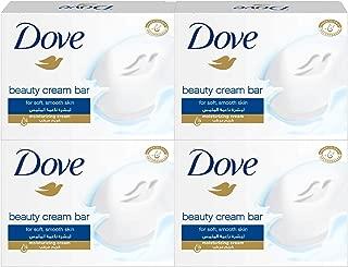 Dove Beauty Cream Bar White, 135g (4 Pack)