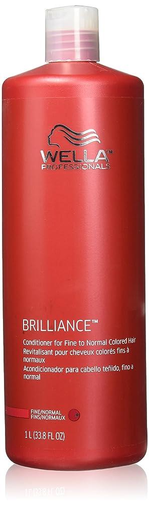 ビリー正気離婚Wella Professionals Brilliance Conditioner For Fine To Normal, Coloured Hair - 1 Litre