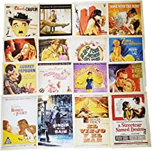 Fancyoung 32 PCS 1 Set Vintage Retro Old Stars Postcard Greeting Cards Souvenir Gifts for Worth Collecting