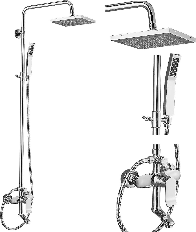 Exposed Shower System Polish 3 Chrome Bathroom Functional Max Tulsa Mall 56% OFF