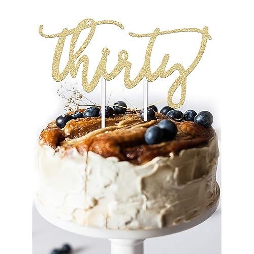 30th Birthday Cake Topper Decoration