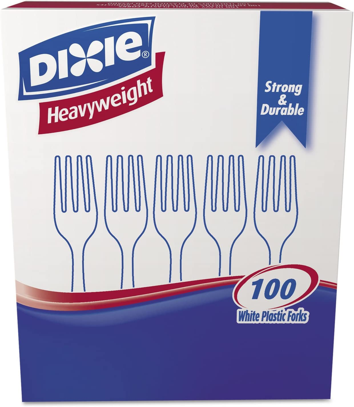 Plastic Cutlery Heavyweight Forks 1000 A Ranking TOP7 surprise price is realized White per Carton