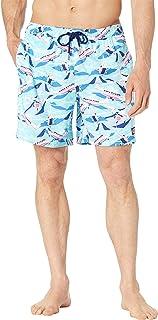 Vineyard Vines Mens Blue Printed Board Shorts Swim Trunks 2XL BHFO 6975
