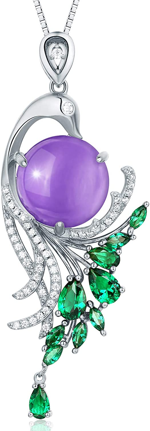 HXZZ Fine Jewelry Women Gifts Sterling Silver Natural Gemstone P