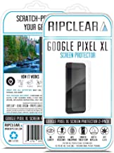 Ripclear Screen Protector Kit for Google Pixel XL Unbreakable - Military Grade Scratch-Resistant, Smartphone Screen Cover, Crystal Clear - 2-Pack