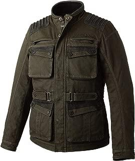 Harley-Davidson Men's Trego Stretch Slim Fit Riding Jacket, Green